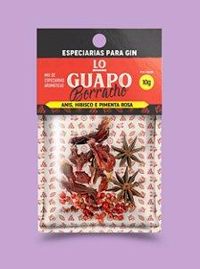 Lo Guapo Borracho - Anis, Hibisco e Pimenta Rosa 10g