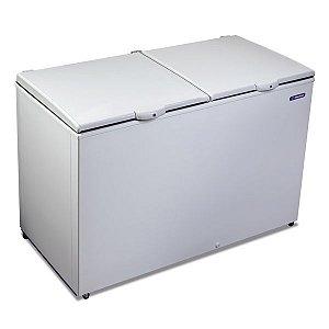 Freezer e Refrigerador Horizontal Dupla Ação DA420 2 tampas 419 Litros