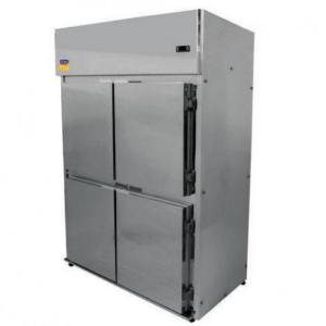 Geladeira Comercial 4 Portas  Inox Galv  Klima