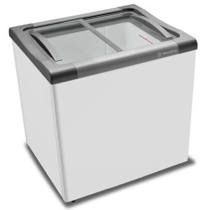 Freezer Para Sorvete NF 20 Tampas de Vidro 180 Litros Metalfrio