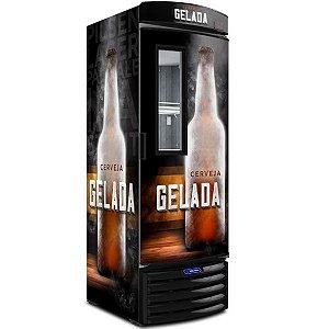 Cervejeira Vertical Porta com Visor 572 litros VN50FL  Metalfrio