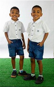 Conjunto Masculino bermuda e camisa André Pump