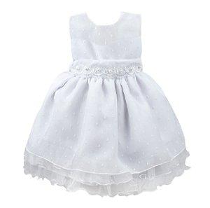 Vestido infantil rainha do gelo verão