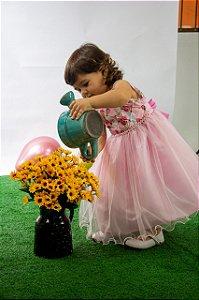 Vestido Infantil Alice Pump