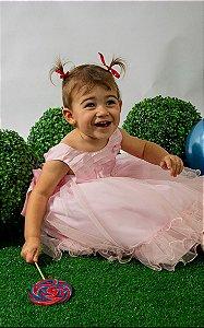 Vestido Infantil Giovana Pump