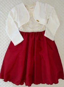 Vestido Infantil Sara Pump