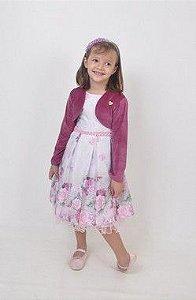 Vestido Infantil Valentina Pump