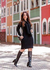 Vestido em Crochê - Luciana Pais