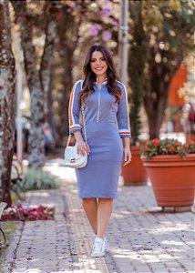 Vestido em Tricôt Rayon - Luciana Pais