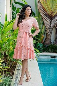Vestido em Malha Lasie - Luciana Pais