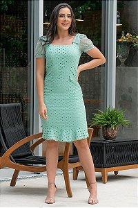 Vestido em Laise - Luciana Pais