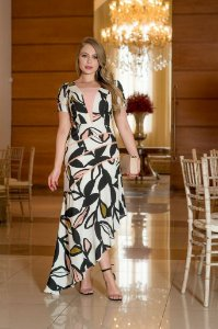 Vestido em Crepe - Kauly