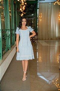 Vestido em Camisaria - Luciana Pais