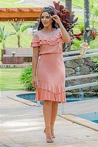 Vestido em Viscolinho - Luciana Pais