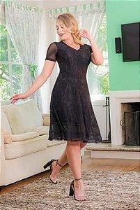 Vestido Lady Like em Renda - Kauly