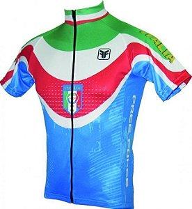 Camisa ciclismo ITALIA - Free Force