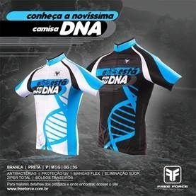 CAMISA DE CICLISMO DNA - FREE FORCE