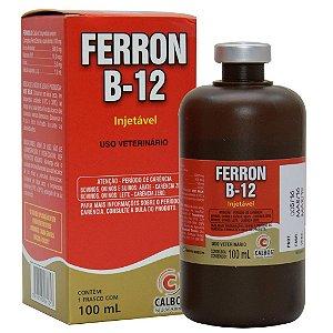 FERRON B12 (CAIXA 30 X 100 ML) - FERRO DEXTRANO SUIÍNOS