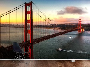 Papel de Parede Fotográfico - Ponte Golden Gate em San Francisco - PA085