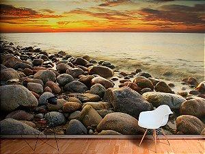 Painel Parede Fotográfico Mar Báltico
