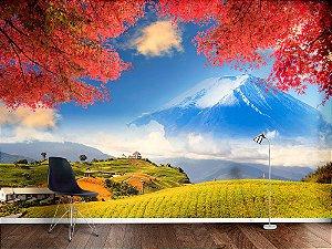Painel Parede Fotográfico Montanha sagrada de Fuji