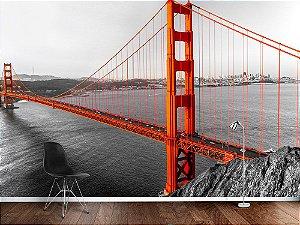 Painel Parede Fotográfico Golden Gate São Francisco