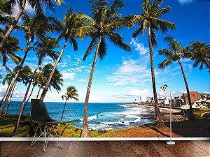 Papel de Parede Fotográfico - Barra Praia Salvador, Bahia - PA109