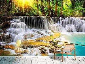 Papel de Parede Fotográfico - Erawan cachoeira - PA115