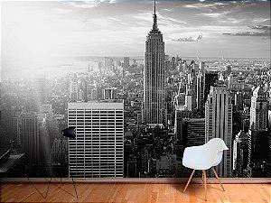 Painel Parede Fotográfico Paisagem urbana de Nova York