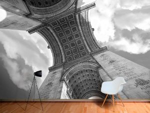 Papel de Parede Fotográfico - Arco do Triunfo, Paris - PA121