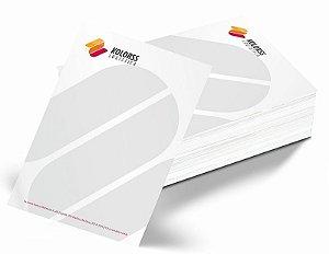 Papel Timbrado 21x29,7cm em Papel Sulfite 90gr - 4x0