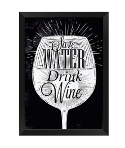 Quadro - Save Walter Drink Wine