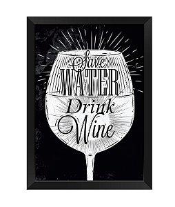 Quadro - Save Walter Drink Wine