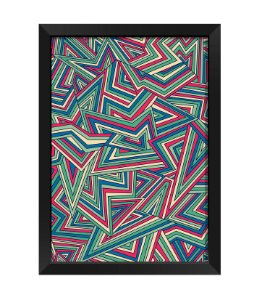 Quadro - Abstrato Tricolor