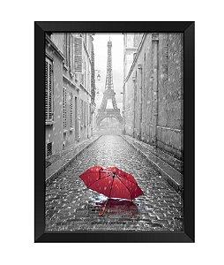 Quadro - Guarda Chuva Torre Eiffel