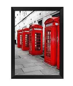 Quadro - Cabine Telefonica  Londres