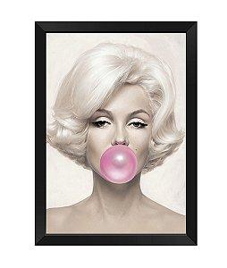 Quadro - Marilyn Monroe Chiclete