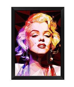 Quadro - Marilyn Monroe Poligonal