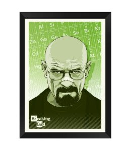 Quadro - Breaking Bad Walter White Poster