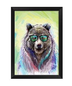 Quadro - Urso Hispter