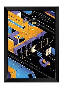 Quadro - Abstrato Techno