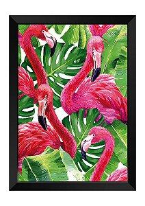 Quadro - Flamingos