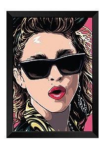 Quadro - Madonna Ilustração