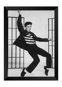 Quadro - Elvis Presley Clássico P&B