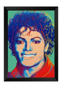 Quadro - Michael Jackson Colors