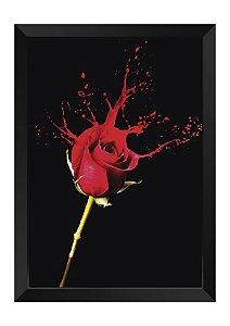 Quadro - Floral Splash Rosa