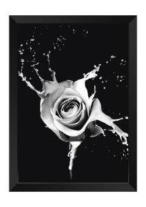 Quadro - Floral Splash Grey