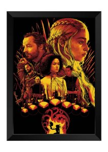 Quadro - Game of Thrones Personagens Poster