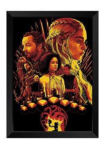 Quadro - Game of Thrones Personagens Poster