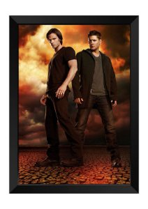 Quadro - Supernatural Dean e Sam